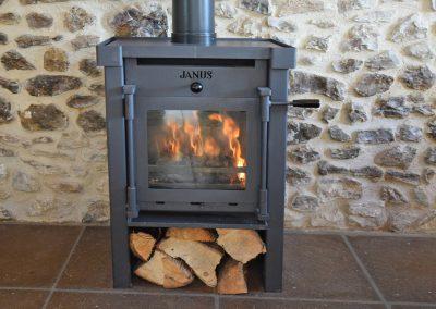 Apple-loft-log-burner-Farwood-Barton-Holiday-Cottages-Colyton-Devon