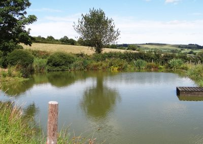 Small-Fishing-Lake-Farwood-Self-Catering-Cottages-Colyton