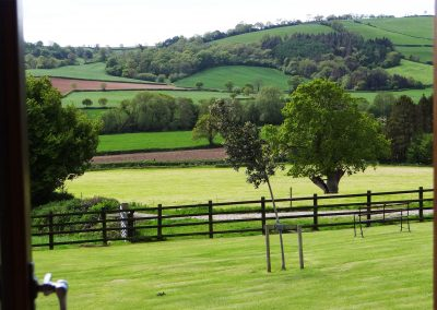 View-From-Cottage-Window-Farwood-Self-Catering-Cottages-Colyton