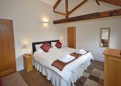 Double-Bedroom-2-View-Leat-House-Farwood-Holiday-Cottages-Devon