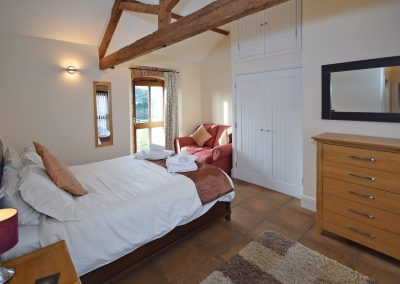 Double-Bedroom-3-Wheel-House-Farwood-Holiday-Cottages-Devon