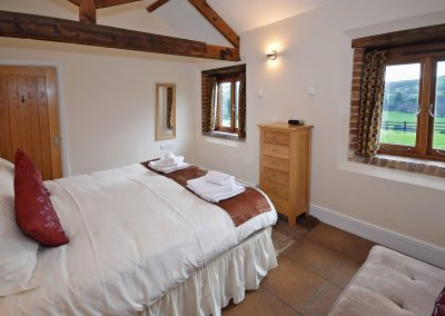 Double-Bedroom-View-Leat-House-Farwood-Holiday-Cottages-Devon