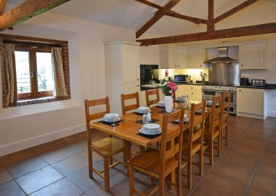 Kitchen-Dining-Wheel-House-Farwood-Holiday-Cottages-Devon