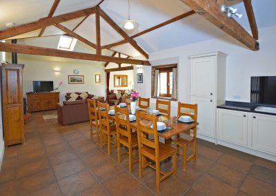 Lounge-Dining-2-Wheel-House-Farwood-Holiday-Cottages-Devon