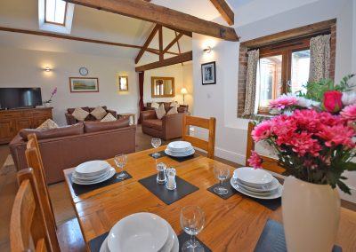 Lounge-Dining-Wheel-House-Farwood-Holiday-Cottages-Devon