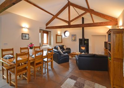 Open-Lounge-Dining-Leat-House-Farwood-Holiday-Cottages-Devon
