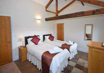 Twin-Room-Leat-House-Farwood-Holiday-Cottages-Devon