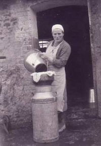 Nellie Crouch Dairy Maid mid 1950's